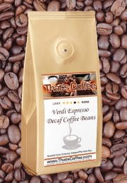 Verdi Espresso Decaf Coffee Beans