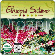 Ethiopia Sidamo Fair Trade Coffee Beans