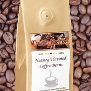 Nutmeg Flavored Coffee Beans