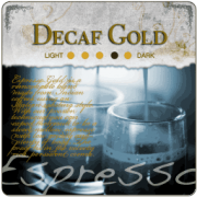 Decaf Espresso Gold Coffee Beans