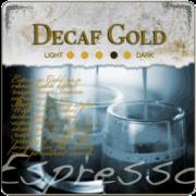 Decaf Espresso Gold Coffee Beans
