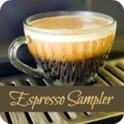 Espresso Coffee Sampler