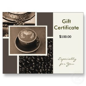 $100 Gift Certificates