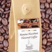 Banana Hazelnut Flavored Coffee