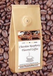Chocolate Raspberry Flavored Coffee
