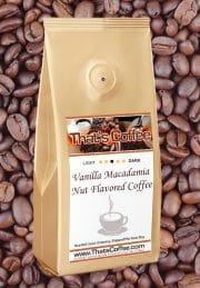 Vanilla Macadamia Nut Flavored Coffee