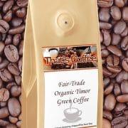 Fair-Trade Organic Timor Green Coffee