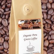 Organic Peru Green Coffee